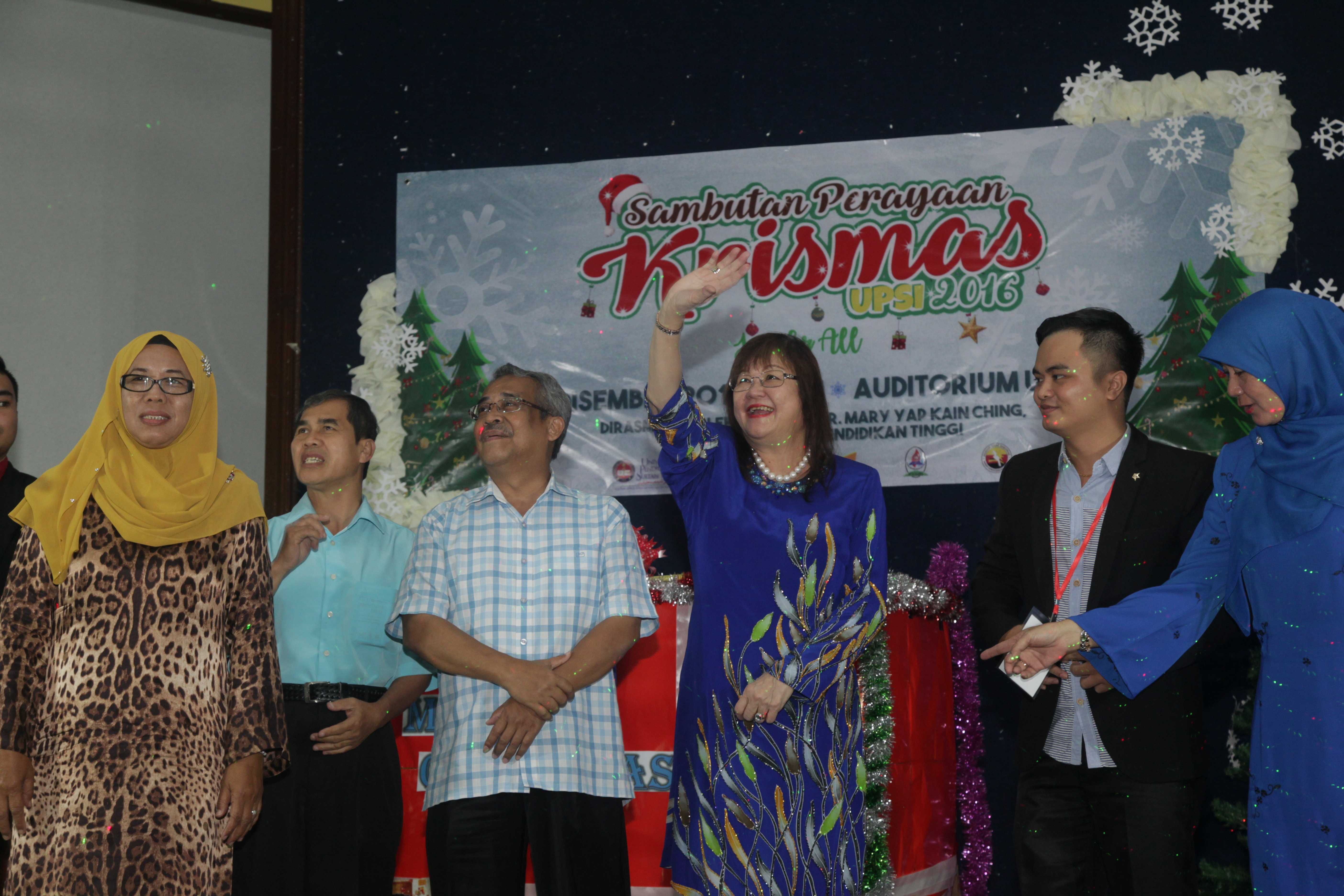 Sambutan Perayaan Krismas Peringkat IPT Kukuhkan Semangat Perpaduan