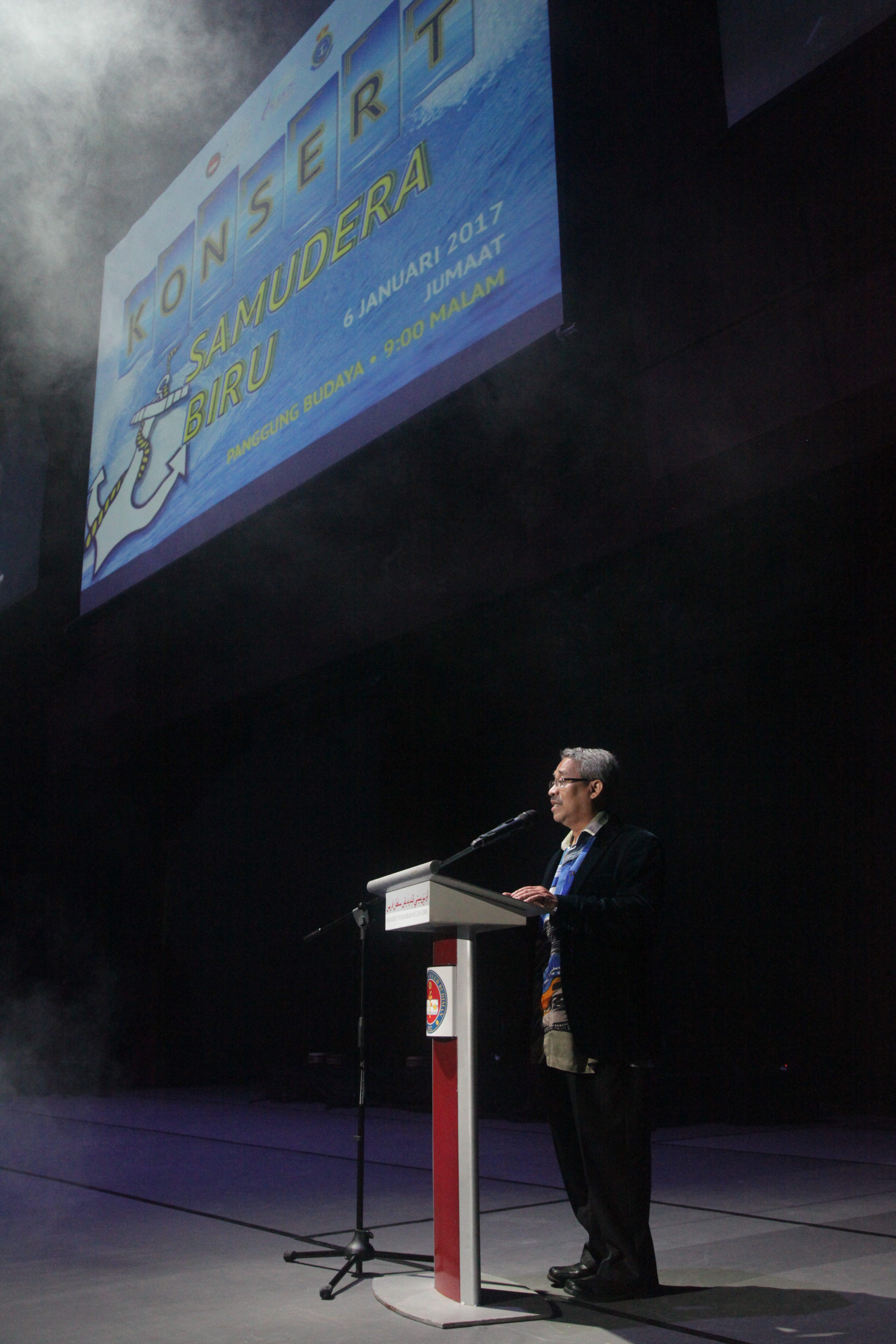 Konsert Samudera Biru rai kerjasama UPSI dan TLDM