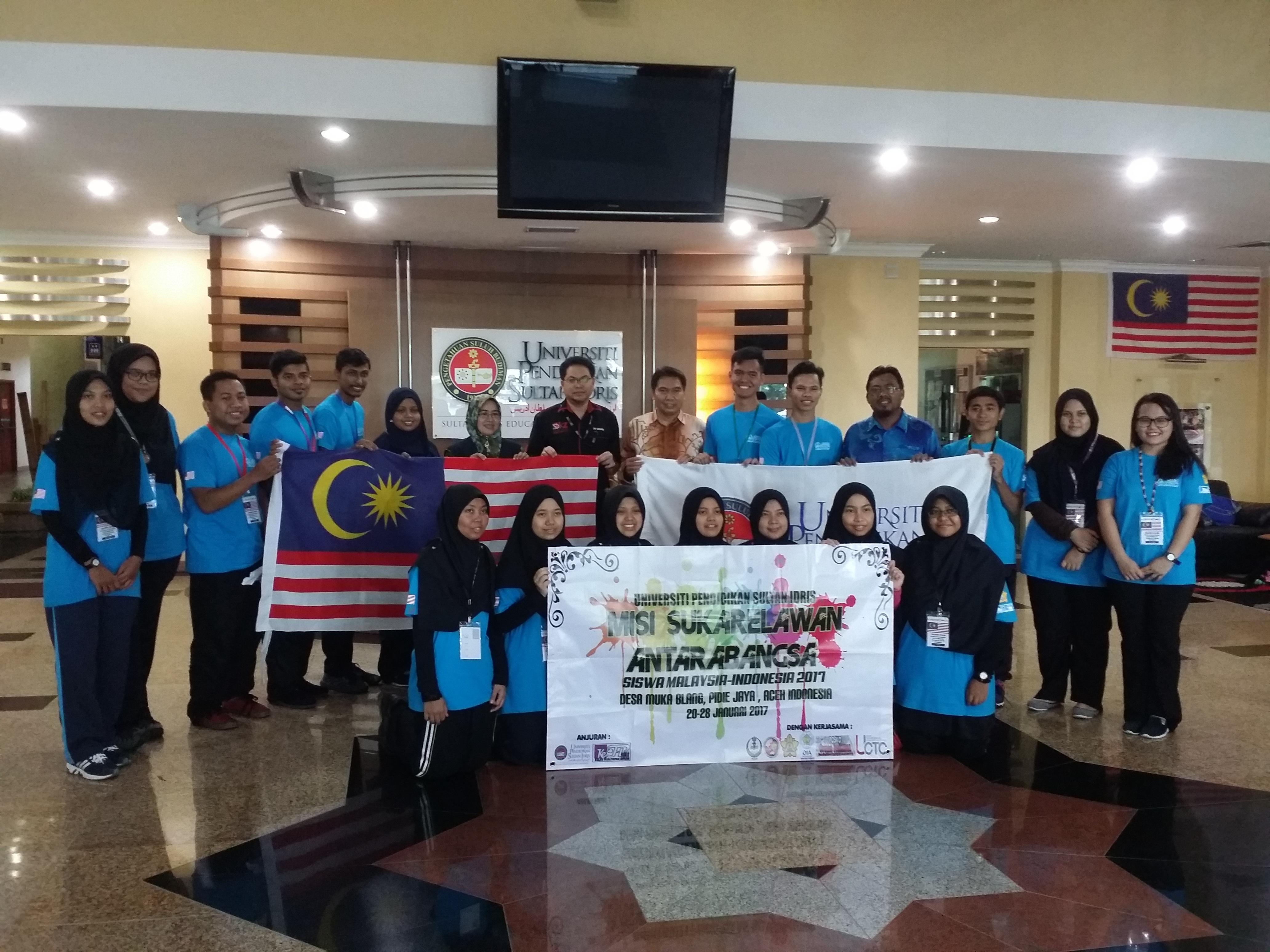 20 Pelajar UPSI lancar misi kemanusiaan di Aceh