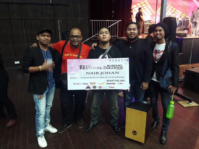 UPSI Naib Johan Music Festival & Busking Challenge Charity 2017
