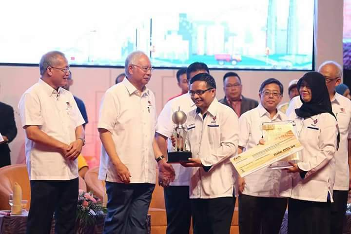 Prestasi Menangi Anugerah Kesatuan Sekerja Cemerlang (Sektor Awam).