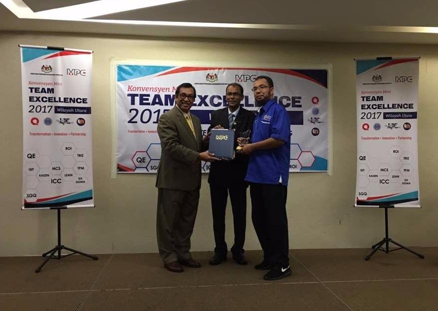 Oasis rangkul emas di Konvensyen Mini Team Excellence 2017 Wilayah Utara
