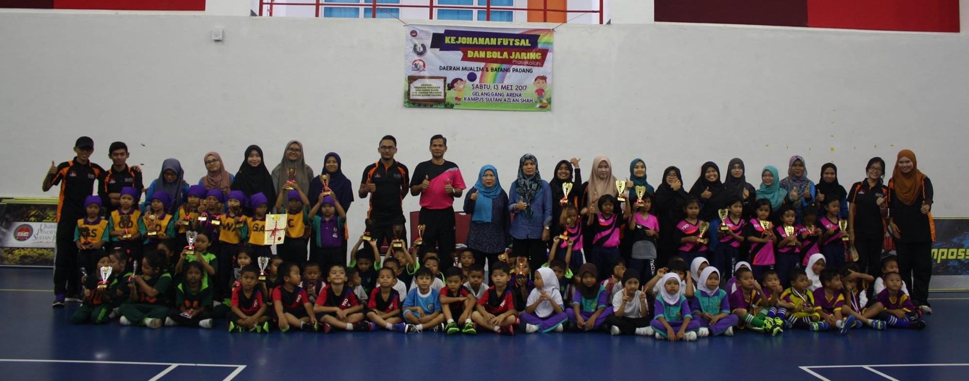 PPAKK julung kali anjur Kejohanan Futsal Dan Bola Jaring Prasekolah