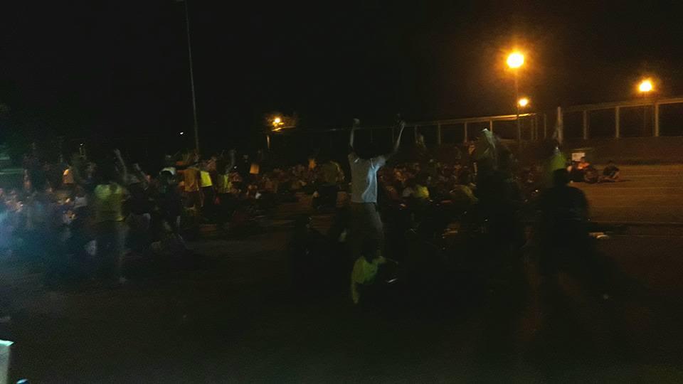 700 hadir saksikan siaran langsung  perlawanan akhir Piala FA