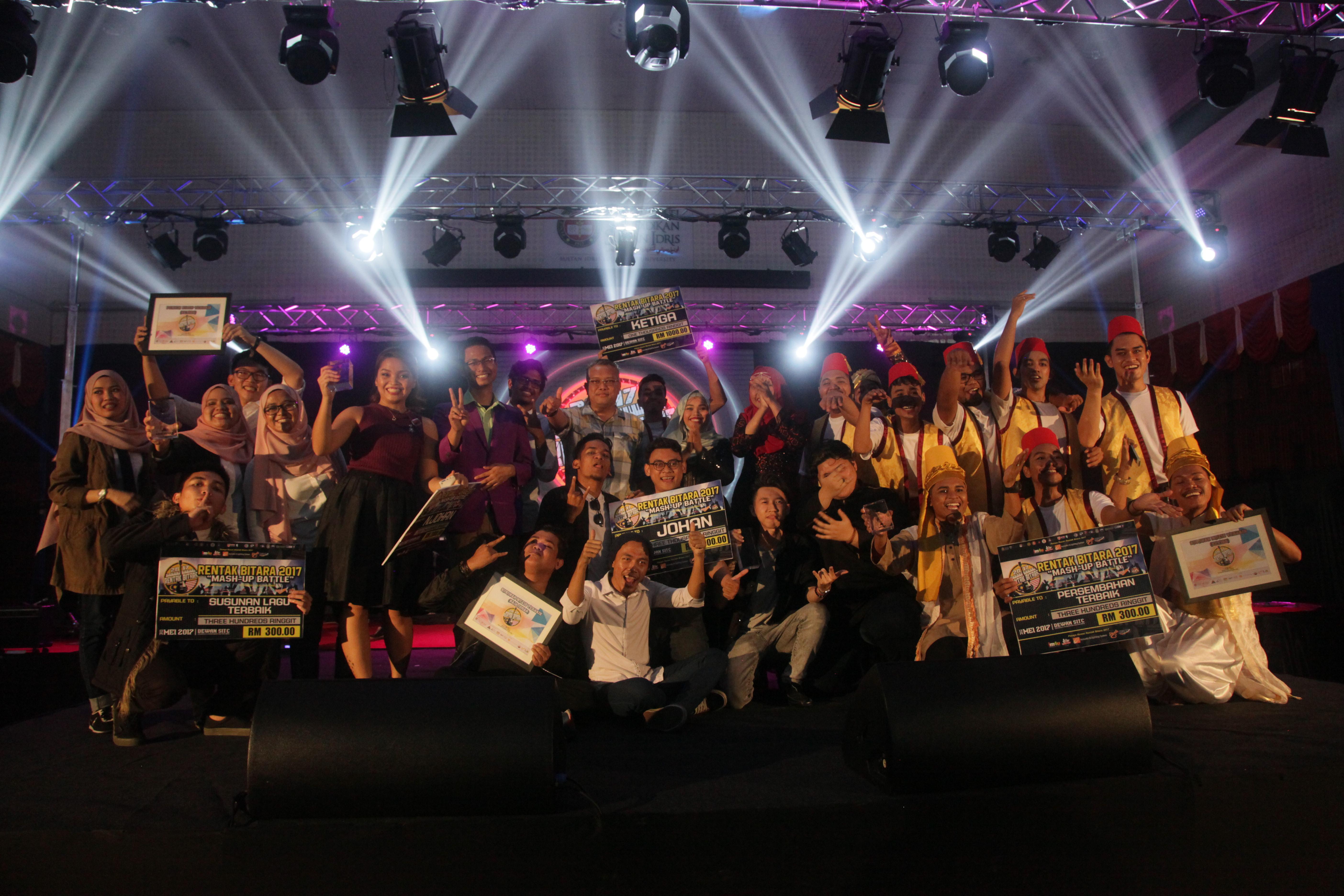 UPSI juara Rentak Bitara 2017