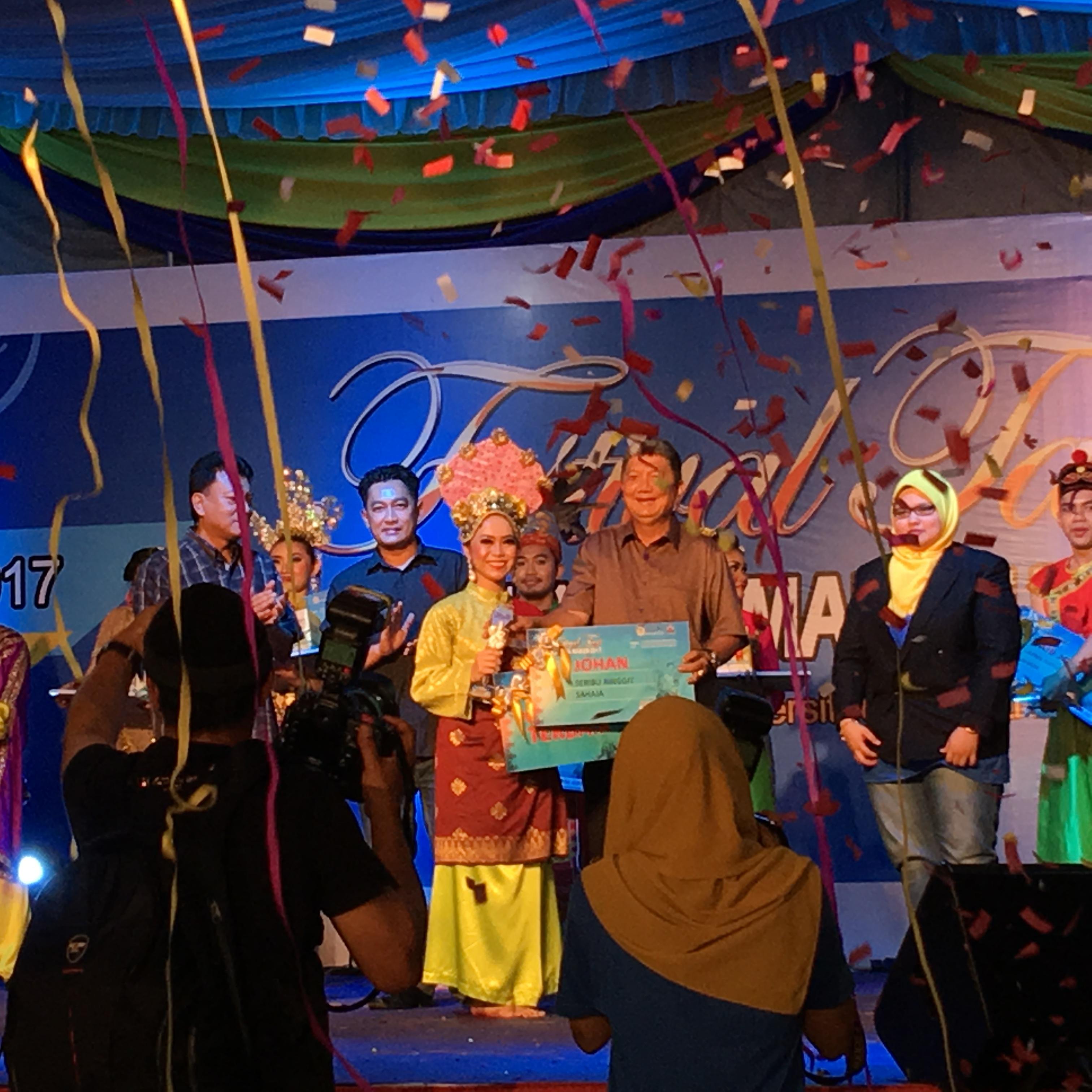 UPSI Juara Festival Tari 1Malaysia