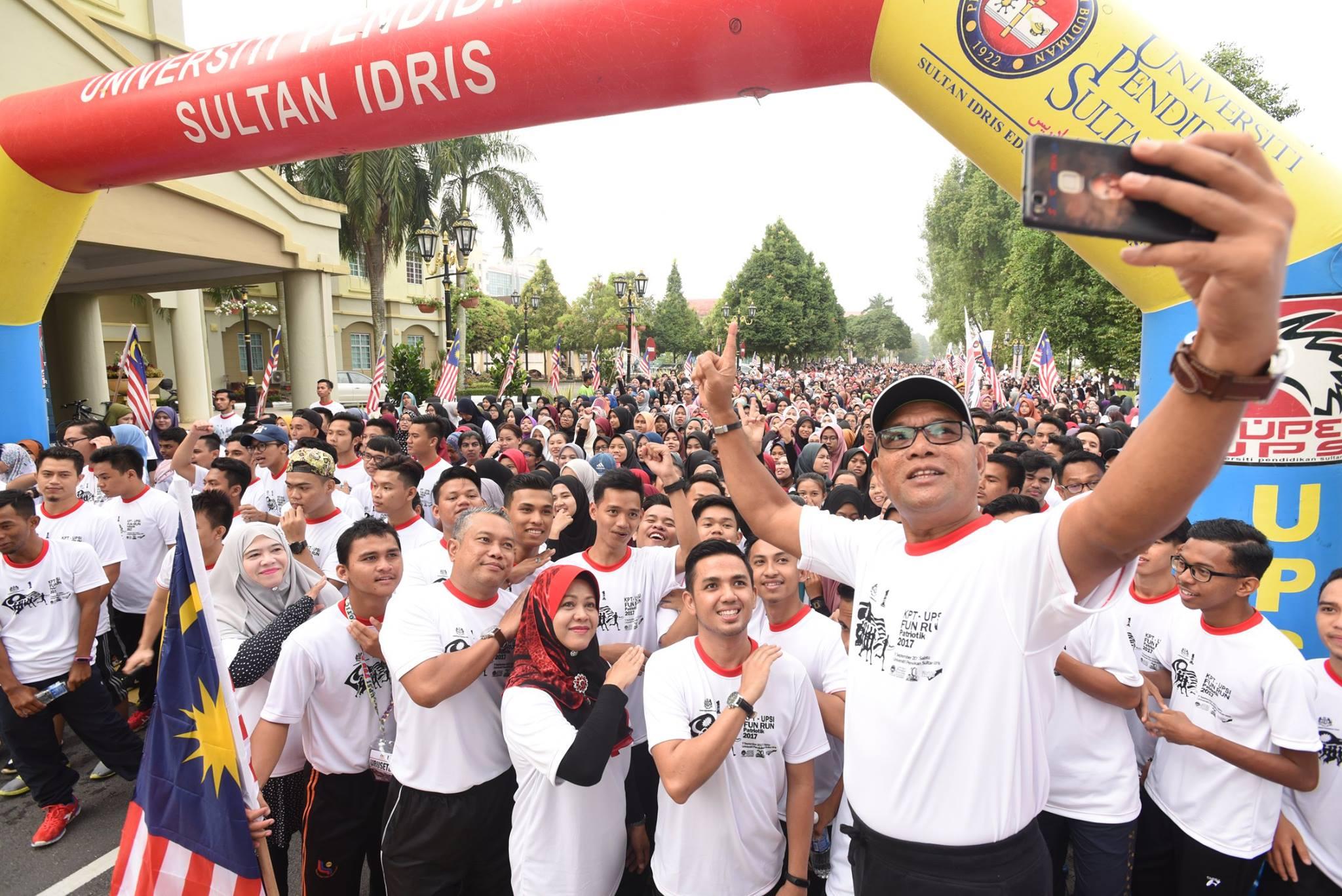 3,180 Sertai Fun Run Patriotik 2017