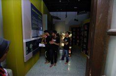 80 Pelajar SMK Temenggong Kati Rasai Pengalaman Bermalam di Muzium