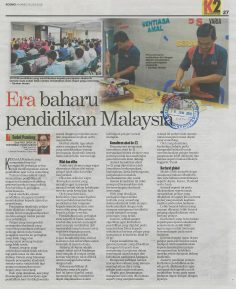 KOSMO I    28 JUN 2018   ~ ERA BAHARU PENDIDIKAN MALAYSIA