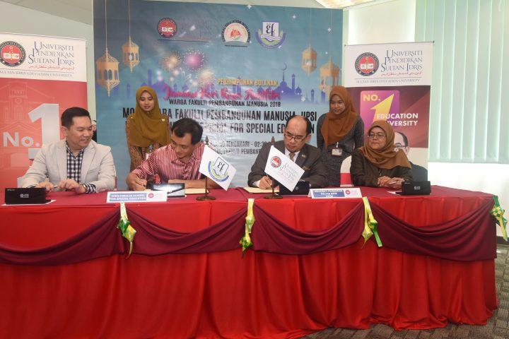 UPSI, Eden Firdaus School for Special Education Perkukuh Bidang Pendidikan Khas
